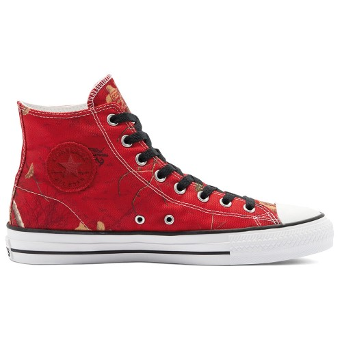 Converse CTAS Pro Hi University Red Black White