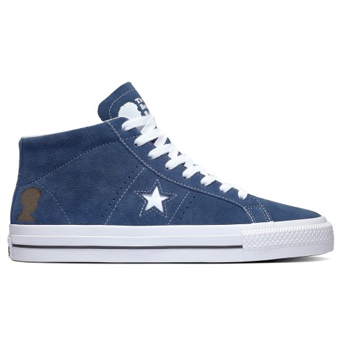 Converse One Star Pro Mid Navy White Black