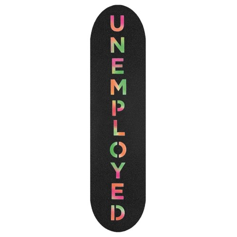 Grip Unemployed Team Logo Vertical Assorted