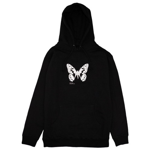 Sweat Capuche Bye Jeremy Butterfly Black
