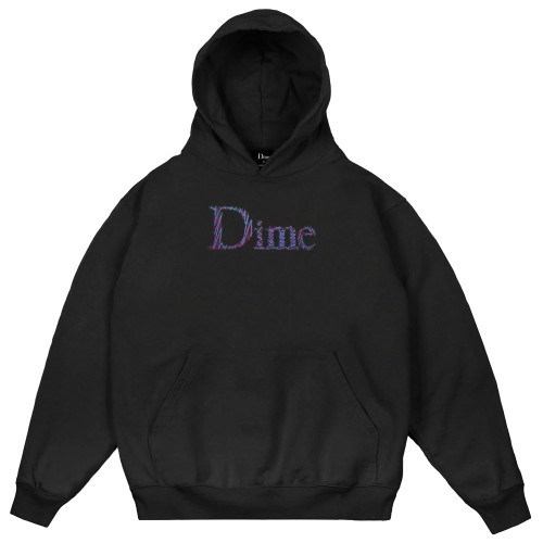 Sweat Capuche Dime Scribble Classic Hoodie Black