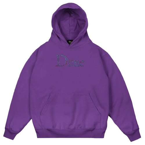 Sweat Capuche Dime Scribble Classic Hoodie Purple