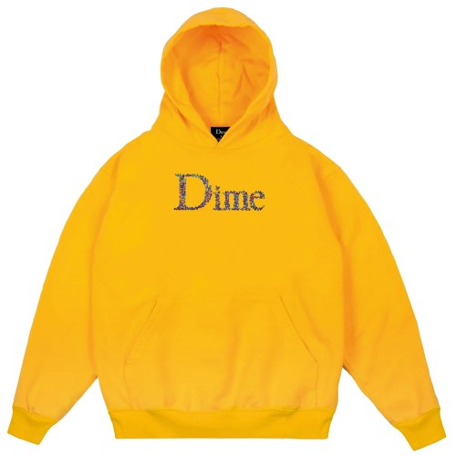 Sweat Capuche Dime Scribble Classic Hoodie Yellow