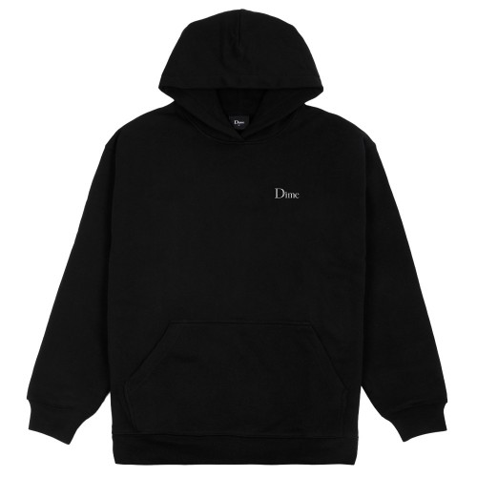 Sweat Capuche Dime Small Logo Hoodie Black