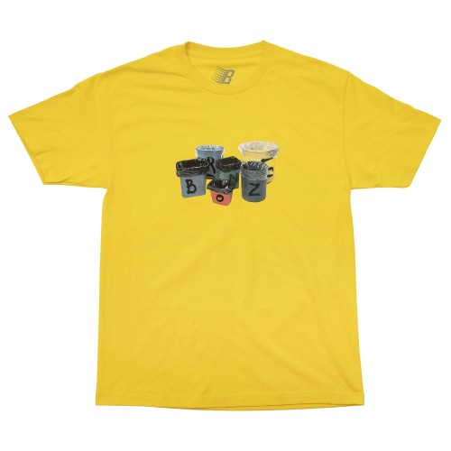 Tee Shirt Bronze Thrash Tee Yellow