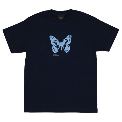 Tee Shirt Bye Jeremy Butterfly Navy