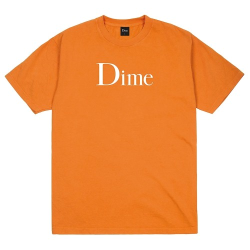 Tee Shirt Dime Classic Logo Tee Shirt Bright Orange