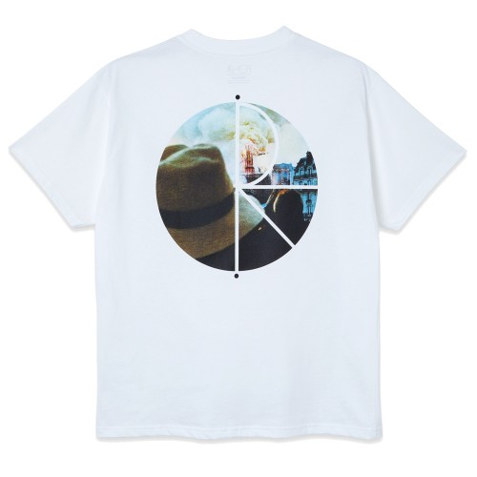 Tee Shirt Polar Notre Dame Fill Logo Tee White