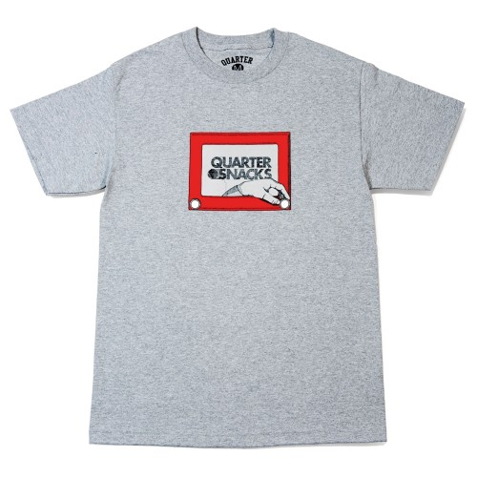 Tee Shirt Quartersnack Sketch Grey