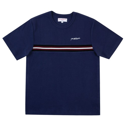 Tee Shirt Yardsale Ribbed Tee Navy