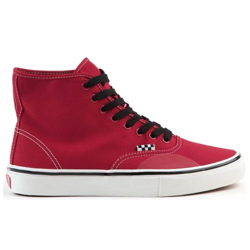 Vans Authentic Skate High LImited Andrew Allen Red Hockey